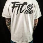 FTC shirt white back
